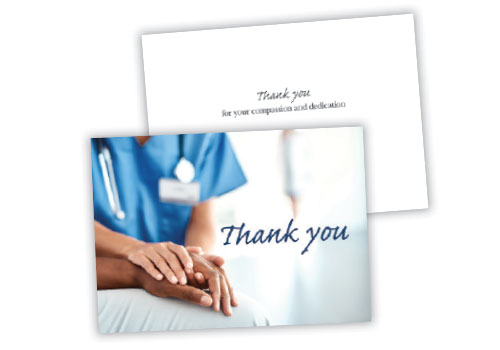 Greeting Card D - Thank You